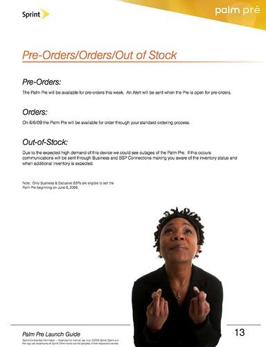 sprint leaks palm pre launch guide in pdf format