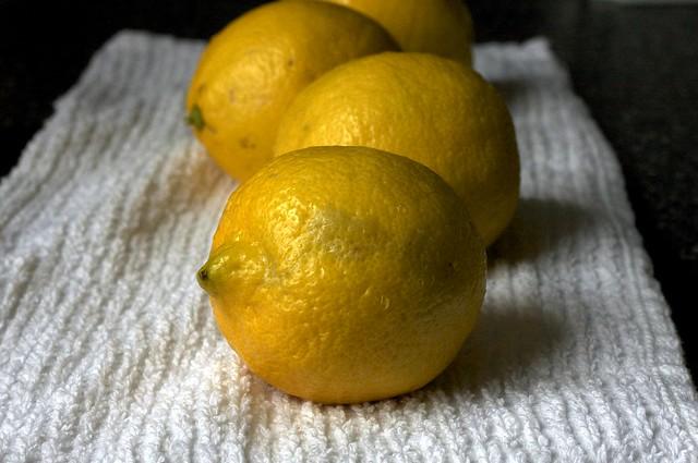 lemons, not intact for long