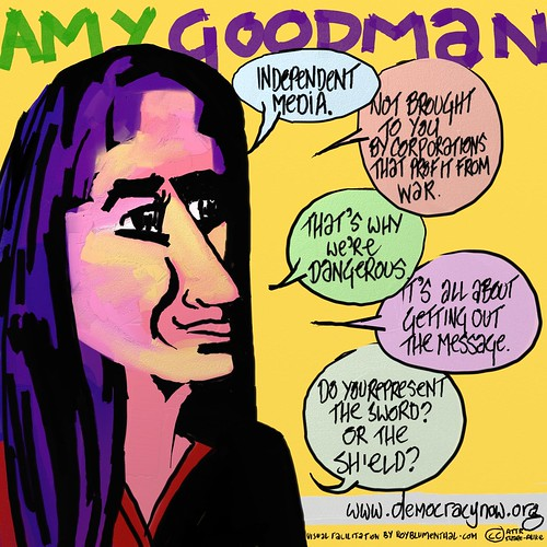 Amy Goodman -- Democracy Now from Roy Blumenthals Open Video Conference Series