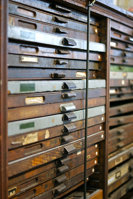 Printers Cabinets