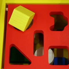 146/365 square peg into a round hole