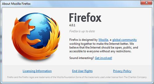 Mozilla Firefox 4.0.1