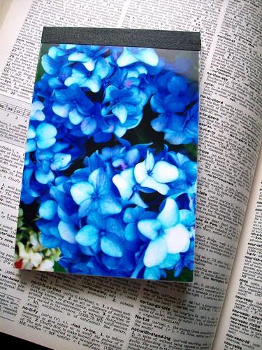 Hydrangea Notepad