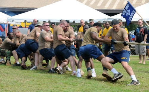 Naval Facilities Engineering Command Hawaii Participates in Captain's Cup