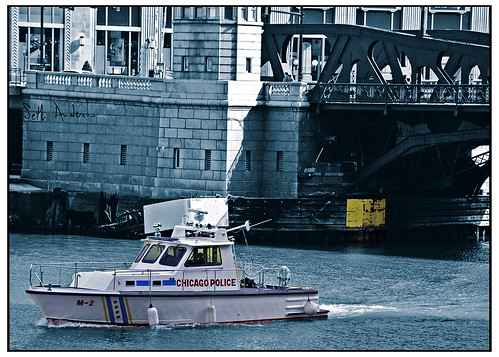 M-2 Police Boat - toned