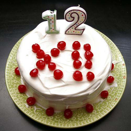Duncan 12th birthday cake -sq