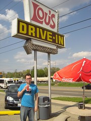 Jose at Lou's Drive-In