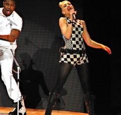 Gwen Stefani checkered