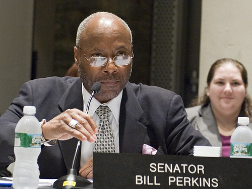 State Senator Bill Perkins, Committee Chair
