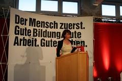 Christin Löchner von der LINKEN JUGEND SACHSEN PDS SED will den Volkstod des Deutschen Volkes herbeiführen durch