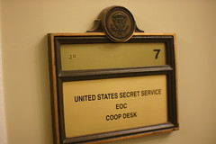 United States Secret Service EOC COOP Desk