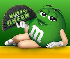 Green M&Ms