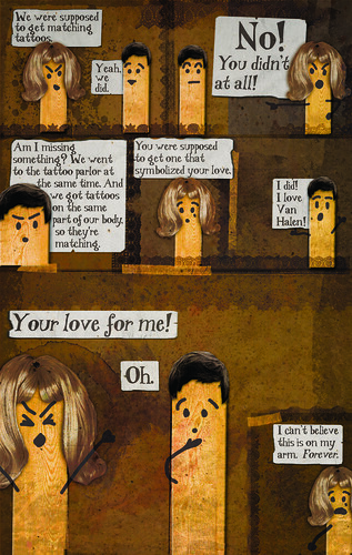 Matching Tattoos Comic Book Page 3