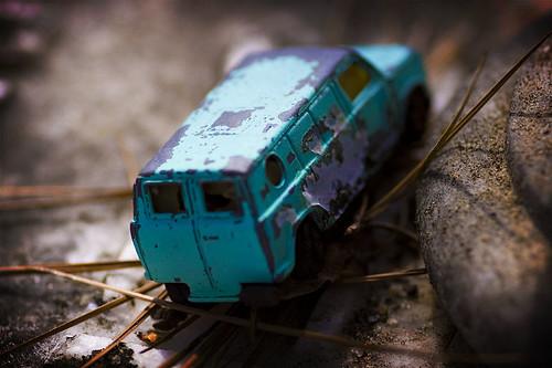 The van of the world's smallest predator...