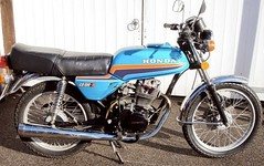 Bullet proof Honda CB100