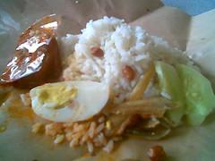 Bandong's nasi lemak 1