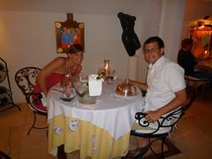 Dinner at Villa Mahana