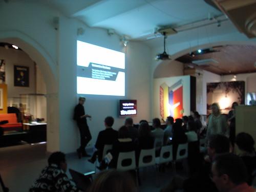 Presentation at Desing Museum