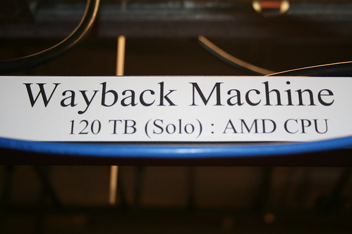 The wayback Machine Servers