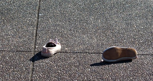 Abandonded shoes