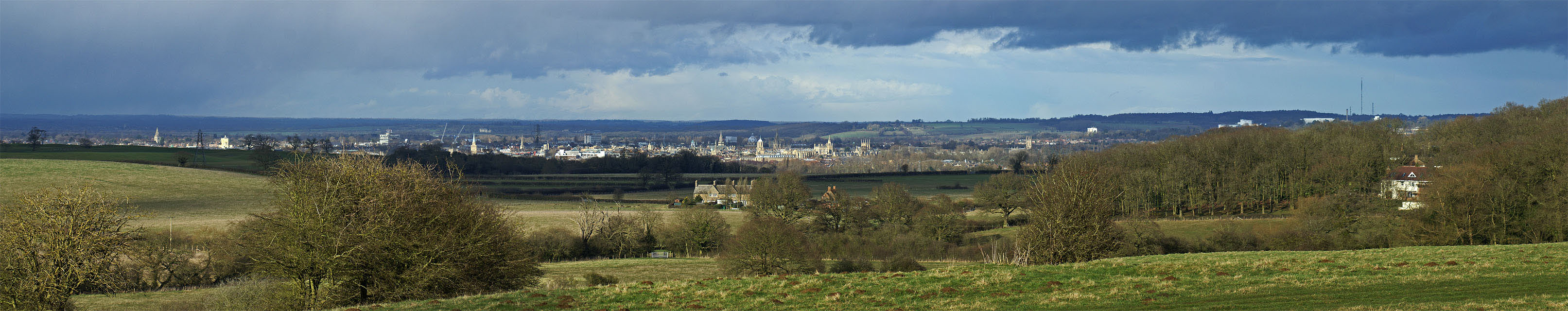 Oxford panorama