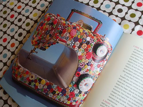 Crafty Chica-fied sewing machine!
