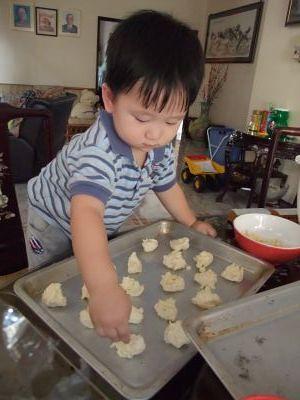 White Choc Chip Cookies