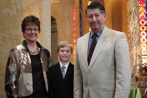 Sebastian & Grandparents (Nana & Papa)