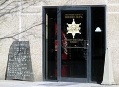 Fentress County Jail entrance