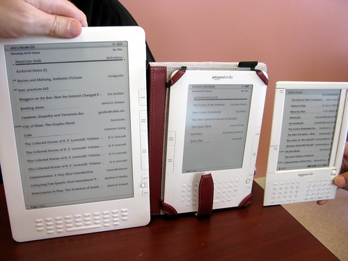 Yay! The WHOLE Kindle Family