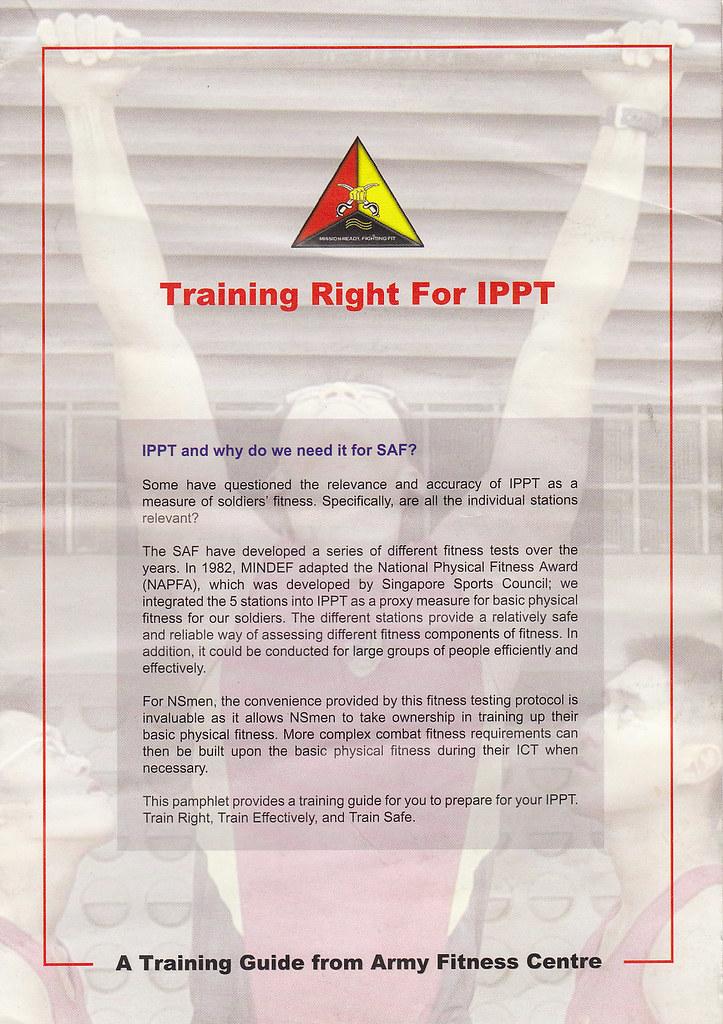 IPPT SAF Training