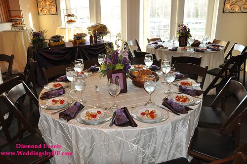 Table set up and dinner by R&R Catering
