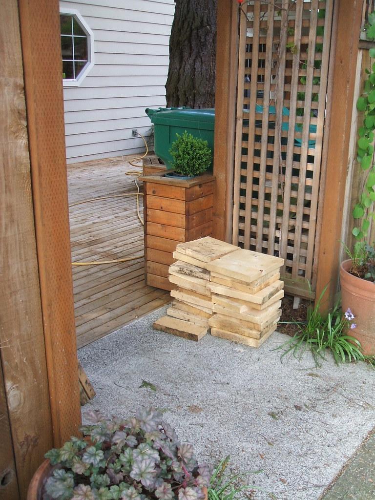 Extra wood