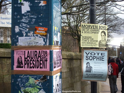 SRC Election Posters