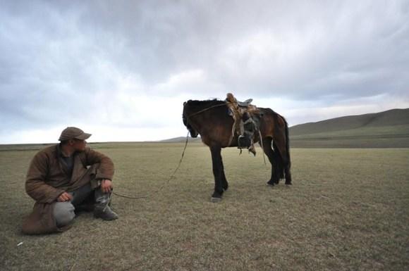 Nomad horseman