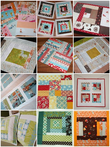 Pieced blocks inspiration