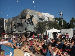 Australian Tennis Open at Federation Square