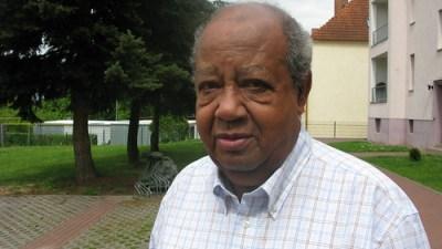 Afrodeutscher Überlebender des KZ-Buchenwald