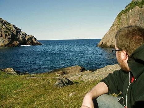 The Ocean at Quidi Vidi