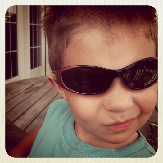 BB's new sunglasses