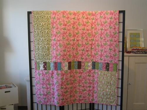 Daydreams quilt back