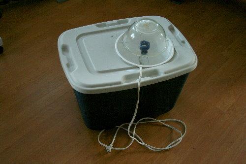 Moth trap - setup