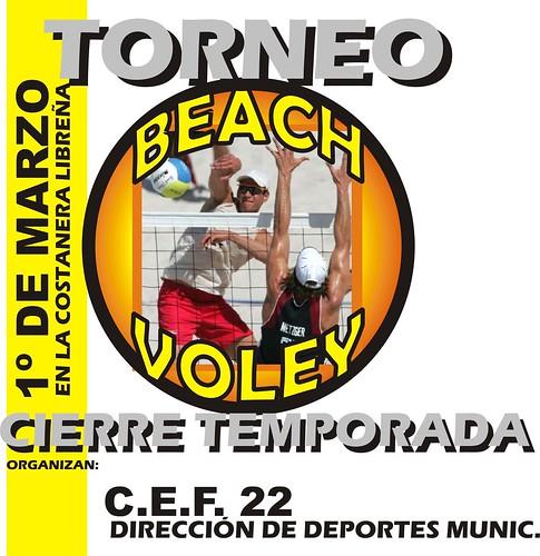 TORNEO BEACH VOLEY 1º DE MARZO 09