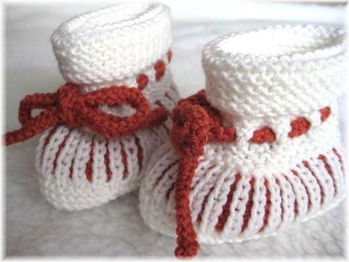 45-09 Booties Terrakotta 1 von Ihnen.