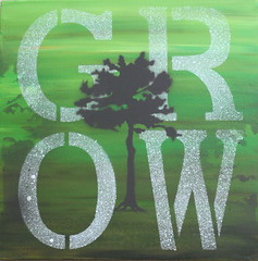 Grow I (18x18) $85