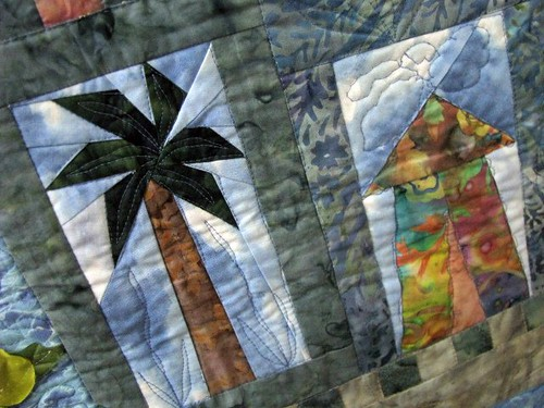 Hawaii by Lori Wilson, The Fabric Stalkers, May Gallery Exhibit @Quiltworks