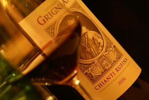 อวดของกินดีกว่า มาฟลอเร้นก็ต้องมากินไวน์ Chianti (คอนเฟิมว่าโง่ๆอย่างหนูซึ่งไม่ได้แอพพรีไวน์ ยังรู้สึกว่าอรึ่ยส์จิง)