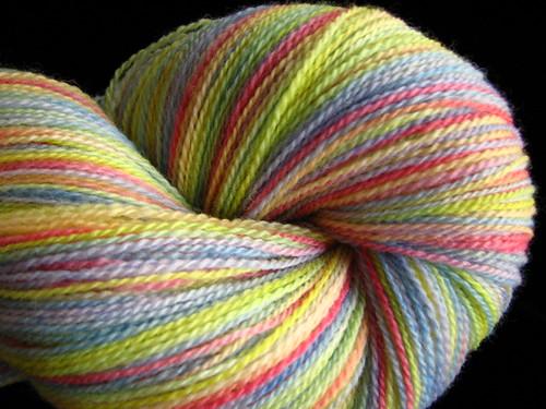 Pastel Rainbow Tabby Lace