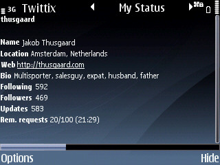 Twittix Profile