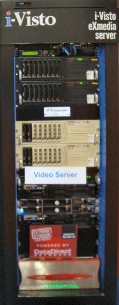 NTT Ultra-High-Speed Video Server System
